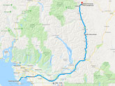 Vencouver - Skihist Provincial Park (Goggle Maps)