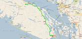 Parksville - Victoria (Google Maps)