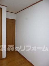 松戸市 間仕切り壁造作リフォーム クロス貼り替え