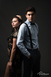 Shooting couple studio
