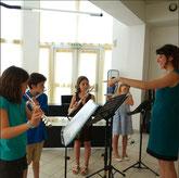 école musique Montferrier concert eleves