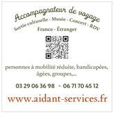Accompagnateur de voyage personnalisé-Logo Aidant-services.fr-https://aidantservices.wordpress.com