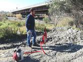 Opere idrauliche lungo il torrente Novito.