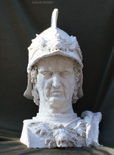 Condottiere, sculpture by Sarah Myers