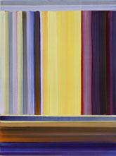 """Elisabeth Sonneck """"0.T."""" Öl auf Papier 40 x 30 cm"""