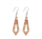 Holzschmuck, Schmuck aus Holz, Ohrhänger aus Holz, Holzring, Südtirol, Modeschmuck, Schmuck online kaufen,