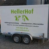 HellerHof Gelfingen: Vermietung Kühlwagen