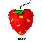 Erdbeer-pinata von Chamucos Pinatas