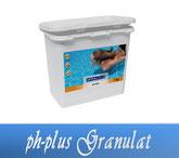 pH-Plus Granulat Wasserpflege Pool Schwimmbecken