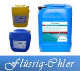 Chloriliquid Bayrol Donau Chem Chlor flüssig Wasserdesinfektion Wasserpflege Pool Schwimmbecken