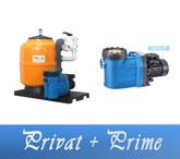 Link Filteranlage Privat Serie mit BADU Prime