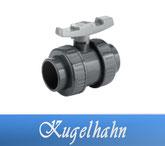 Kugelhahn DA50 DA63 Fitting Klebe Verrohrungsmaterial und Zubehör