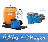 Link Filteranlage Delux Serie mit BADU Magna