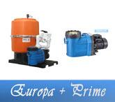 Link Filteranlage Europa Serie mit BADU Prime