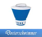 Dosierschwimmer Zubehör Wasserpflege Pool Schwimmbecken