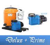 Link Filteranlage Delux Serie mit BADU Prime