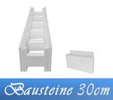 Neptun Iso-Massiv Styropor Bausteine Set 30cm Plus Pool Schwimmbecken