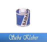 Saba PVC-Kleber 250 / 1000 ml Fitting Verrohrungsmaterial und Zubehör