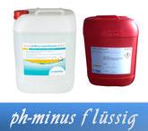 pH-Minus flüssig Wasserpflege Pool Schwimmbecken