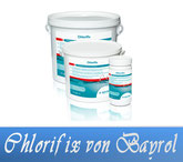 Chlorifix Granulat Chlor Bayrol Wasserdesinfektion Wasserpflege Pool Schwimmbecken