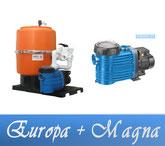 Link Filteranlage Europa Serie mit BADU Magna