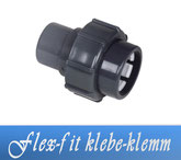 Flex-Fit Klebe-Klemm DA50 Fitting Klebe Verrohrungsmaterial und Zubehör
