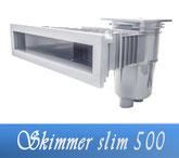 Skimmer Slim 500 Neptun Astral ABS Bauteile Einbauteile Pool Schwimmbecken