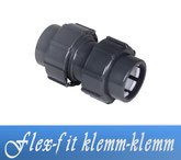 Flex-Fit Klemm-Klemm DA50 Fitting Verrohrungsmaterial und Zubehör