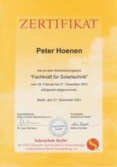 DGS - Berlin-Brandenburg: Expert Solar Technology - Solarteur