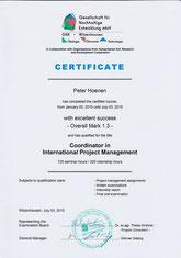 GNE- Witzenhausen: Coordinator in International Project Management