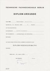 TFH-Berlin: Eningeers Degree - Applied Horticulture