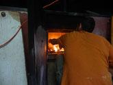 La préparation du feu