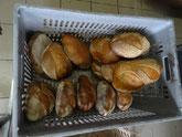 A la sortie, le pain est tout chaud
