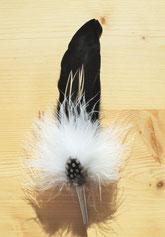 Feder mit Hülse, 20-22 cm