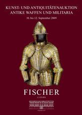 Katalog Auktion Antike Waffen und Militaria September 2009