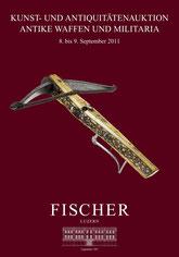 Catalogue de la vente d'armes septembre 2011