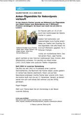 Press reports 2008