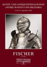 Katalog Auktion Antike Waffen und Militaria September 2005