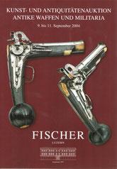 Catalogue de la vente d'armes septembre 2004