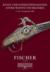 Catalogue de la vente d'armes septembre 2008