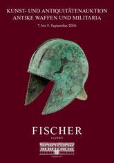 Katalog Auktion Antike Waffen und Militaria September 2006