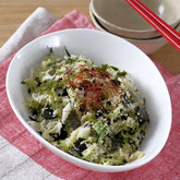 海苔とキャベツの韓国風サラダ