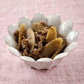 根菜の味噌炊き込みご飯