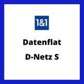 1 & 1  Datenflat D-Netz S trotz Schufa