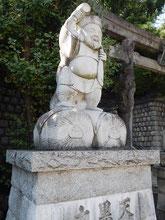 品川神社 大黒様