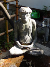 品川神社 水難除け 無病息災 水かけ河童 手水舎