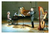 Eva Schieferstein, Klavier; Zoltán Kovács, Klarinette; Max Beckschäfer