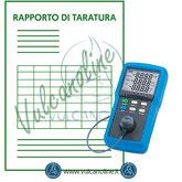 Taratura wattmetro