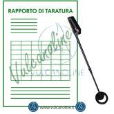 Taratura metal detector