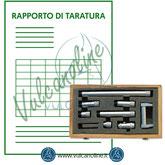 Taratura micrometro per interni ad aste componibili